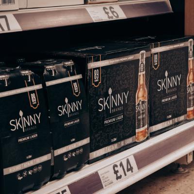 SkinnyBrands Premium Lager Is Vegan Certified